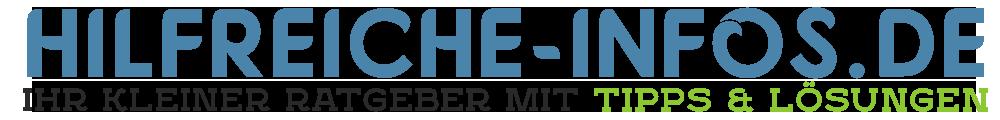 Hilfreiche-Infos.de - Zur Startseite