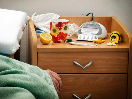 Sommergrippe - Bettruhe hilft!