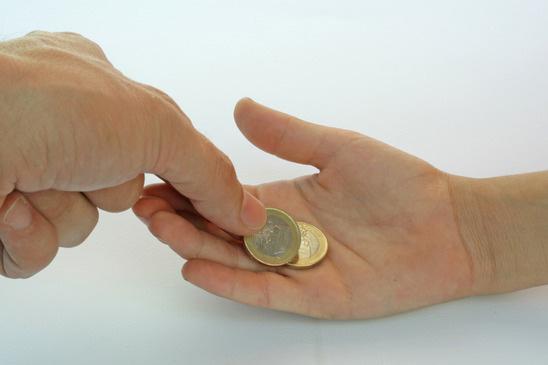 Taschengeld laut Taschengeldtabelle