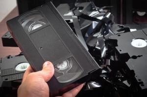 Videokassetten entsorgen